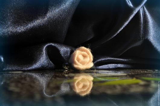 Кольца ручной работы. Ярмарка Мастеров - ручная работа. Купить Кольцо Роза. Handmade. Кремовый, кольцо с розой, сливочный