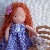 Куклы и игрушки ручной работы. Ярмарка Мастеров - ручная работа Вальдорфская куколка (23 см). Handmade.