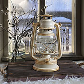 Для дома и интерьера handmade. Livemaster - original item Kerosene lamp battery operated ivory lantern props for photos. Handmade.