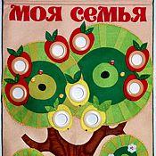 Для дома и интерьера ручной работы. Ярмарка Мастеров - ручная работа Родословная Яблоко от яблони недалеко падает. Handmade.