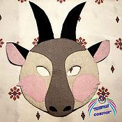 Работы для детей, ручной работы. Ярмарка Мастеров - ручная работа Маски животных из фетра. Handmade.