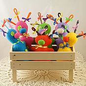 Куклы и игрушки ручной работы. Ярмарка Мастеров - ручная работа Инопланетяшки). Handmade.