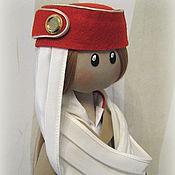 Куклы и игрушки ручной работы. Ярмарка Мастеров - ручная работа кукла стюардесса Emirates Airlines. Handmade.
