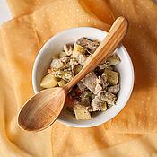 Посуда handmade. Livemaster - original item Spoon left-handed, poplar. Handmade.
