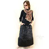Одежда handmade. Livemaster - original item The skirt is made of Mac on the sintipon
