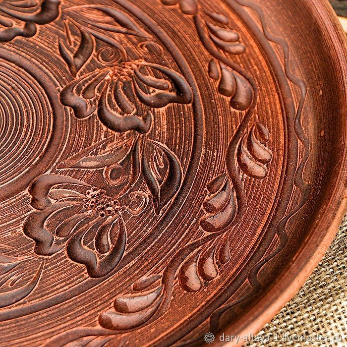 Dish' Fruit ' carved 30cm, Dish, Feodosia,  Фото №1