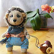 Куклы и игрушки ручной работы. Ярмарка Мастеров - ручная работа Ёжик Тимошка. Handmade.