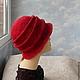 """Шляпы ручной работы. Заказать шляпка """"Александра"""". ZIMa    (Ирина)          FeltHouse. Ярмарка Мастеров. Валяные шляпки, шляпы"""