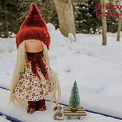 "Куклы и пупсы ручной работы. Ярмарка Мастеров - ручная работа Кукла ""Зимняя Забава"". Handmade."