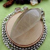 Фен-шуй и эзотерика handmade. Livemaster - original item Pendulum with rutile quartz. Handmade.