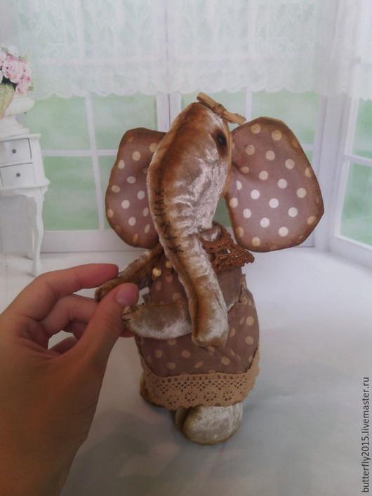Мишки Тедди ручной работы. Ярмарка Мастеров - ручная работа. Купить Слоняшка Печенька  (Тедди). Handmade. Бежевый, кофе с молоком