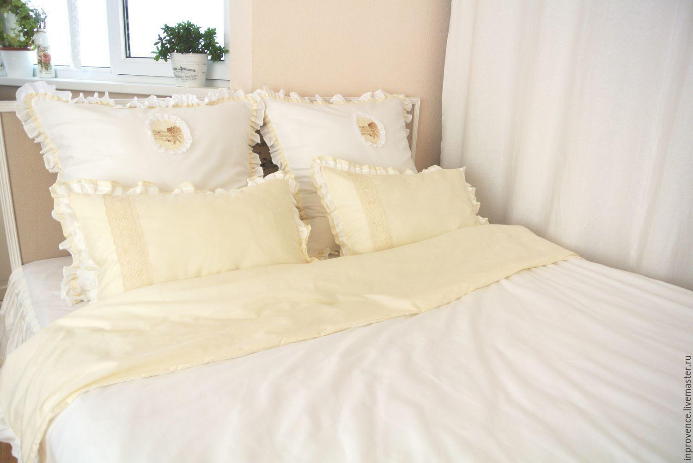 Bedding Set Vintage White Cream – Shop Online On Livemaster With Shipping - 7KA3FCOM