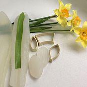 Цветы и флористика ручной работы. Ярмарка Мастеров - ручная работа Вайнеры, каттеры нарцисс ( набор/отдельно). Handmade.