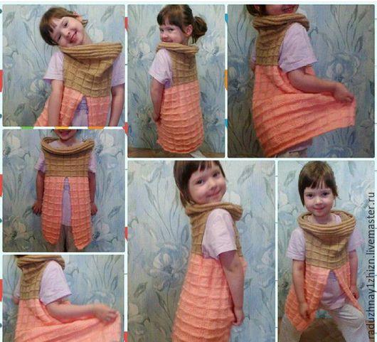 Авторская жилетка для девочки. Мария