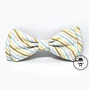 Аксессуары handmade. Livemaster - original item Tie with stripes. Handmade.