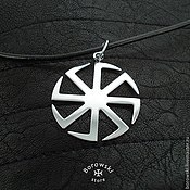 Украшения handmade. Livemaster - original item KOLOVRAT Slavic amulet. Handmade.