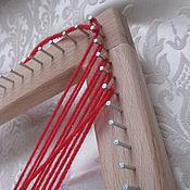 Материалы для творчества ручной работы. Ярмарка Мастеров - ручная работа Рамка для плетения. Handmade.
