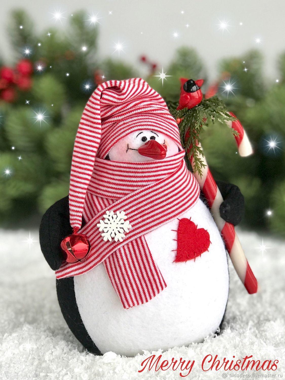 Пингвин из фетра с леденцом, Мягкие игрушки, Киев,  Фото №1