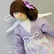 Куклы и игрушки ручной работы. Ярмарка Мастеров - ручная работа Лавандовый ангел в стиле Тильда. Handmade.