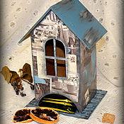 """Для дома и интерьера ручной работы. Ярмарка Мастеров - ручная работа Чайный домик  """"Мопед"""". Handmade."""