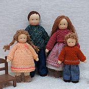 Куклы и игрушки ручной работы. Ярмарка Мастеров - ручная работа Семья. Handmade.