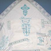 Работы для детей, handmade. Livemaster - original item Baptismal nominal set with any name. Handmade.