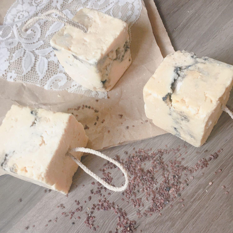 'Marble salt' 200 gr. handmade salt soap, Soap, Moscow,  Фото №1