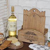 Утварь ручной работы. Ярмарка Мастеров - ручная работа Chateau подставка из дуба. Handmade.