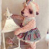 Куклы и игрушки ручной работы. Ярмарка Мастеров - ручная работа Мишка тедди Наденька.. Handmade.