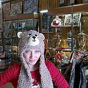 """Одежда ручной работы. Ярмарка Мастеров - ручная работа шапочка""""Мишка"""". Handmade."""