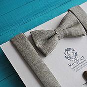 Аксессуары handmade. Livemaster - original item Tie beige textured Suspenders beige / Set Idyll. Handmade.