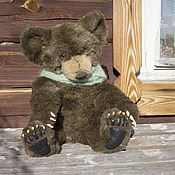 Куклы и игрушки ручной работы. Ярмарка Мастеров - ручная работа Авторский мишка Чой (Bear cub Choi). Handmade.