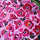 Bright Phlox oil painting, the bright blossoms of Phlox. Pictures. positive picture Helena Gold. My Livemaster.Фото №4