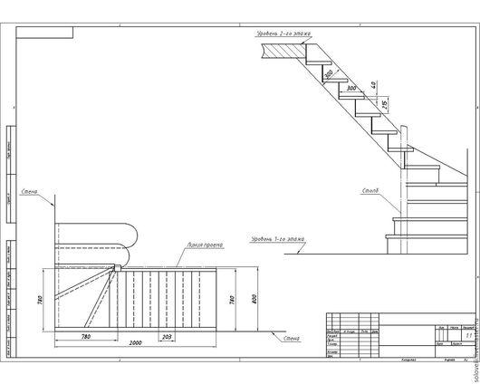 Экстерьер и дача ручной работы. Ярмарка Мастеров - ручная работа. Купить Лестница на дачу. Handmade. Чёрно-белый, лестница в гараж
