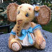 Куклы и игрушки ручной работы. Ярмарка Мастеров - ручная работа Слоник Полли. Handmade.