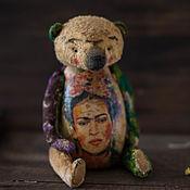 Куклы и игрушки ручной работы. Ярмарка Мастеров - ручная работа мидведь Фрида. Handmade.