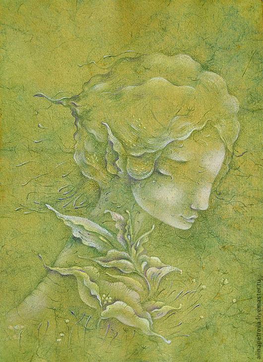 Картина сказочная дева