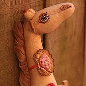 Куклы и игрушки ручной работы. Ярмарка Мастеров - ручная работа Жирафочка. Handmade.