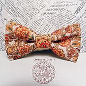 Аксессуары handmade. Livemaster - original item Tie Russian ornament/ folk pattern/ painting. Handmade.