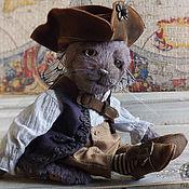 Куклы и игрушки ручной работы. Ярмарка Мастеров - ручная работа Котик тедди Пач. Handmade.