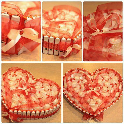 Подарки для влюбленных ручной работы. Ярмарка Мастеров - ручная работа. Купить Сладкое сердце. Handmade. Сердце в подарок, шоколад, романтикам