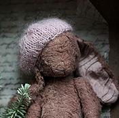 Куклы и игрушки ручной работы. Ярмарка Мастеров - ручная работа Зайка в новой шапочке. Handmade.