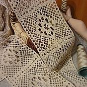 Материалы для творчества ручной работы. Ярмарка Мастеров - ручная работа Кружево, хлопок - 10 см. Handmade.