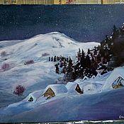 Картины ручной работы. Ярмарка Мастеров - ручная работа Зимняя. Handmade.