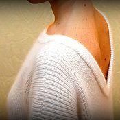 Одежда ручной работы. Ярмарка Мастеров - ручная работа Свитер ангоровый. Handmade.
