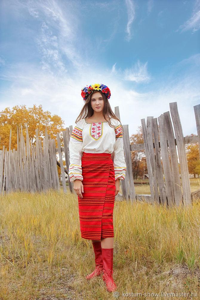 Арт. 1123, Народные костюмы, Москва,  Фото №1