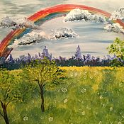 Картины ручной работы. Ярмарка Мастеров - ручная работа После дождя. Handmade.