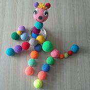 """Куклы и игрушки ручной работы. Ярмарка Мастеров - ручная работа Конструктор """" Шарик - Лошарик """". Handmade."""