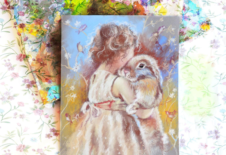 Нежный полдень - картина пастелью, Картины, Москва,  Фото №1