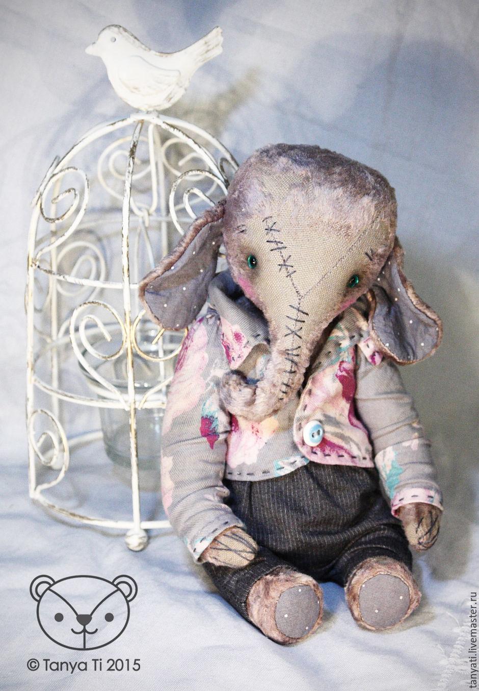 Elephant Frankie, Stuffed Toys, Krasnogorsk,  Фото №1